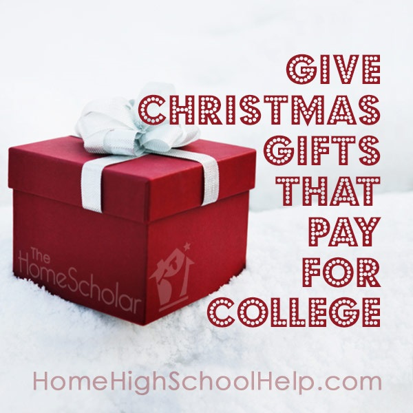 Gifts that pay for college