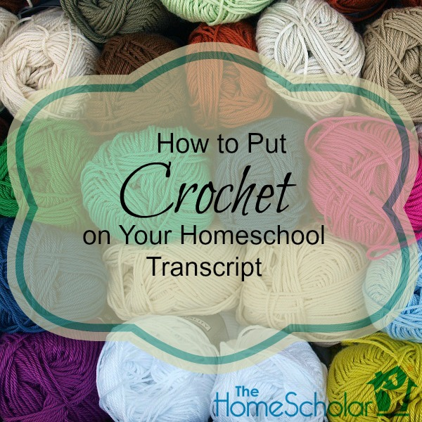 crochet on your transcript