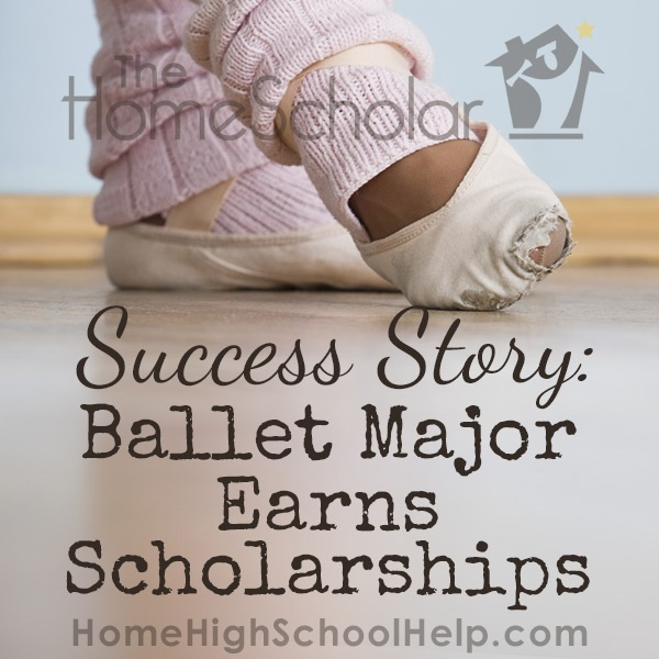 Success Story: Ballet Major Earns Scholarships [Plus 8 easy Tips]