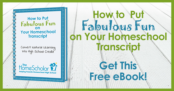 How to Put Fabulous Fun on Your Transcript