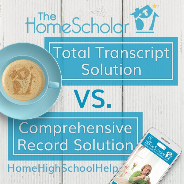 Comprehensive Record Solution vs. Total Transcript Solution