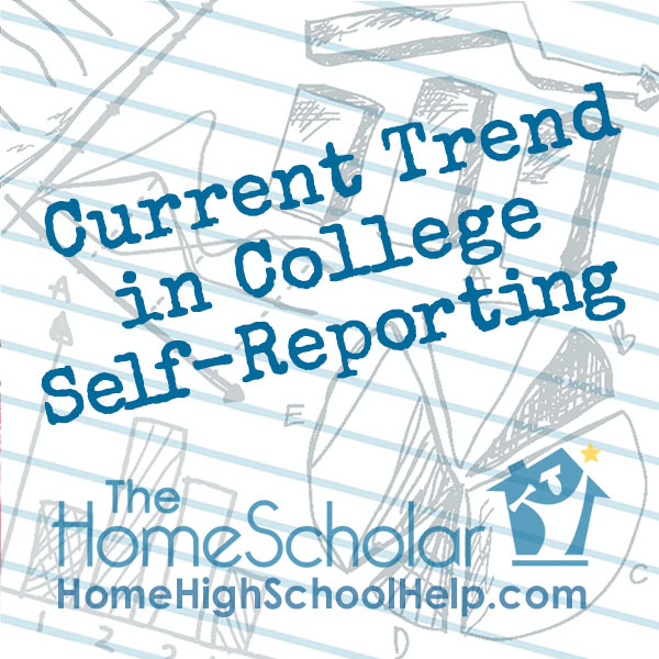 Current Trend in College Self-Reporting