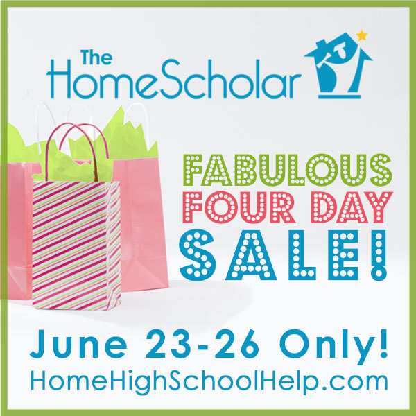 Fabulous Four Day Sale!