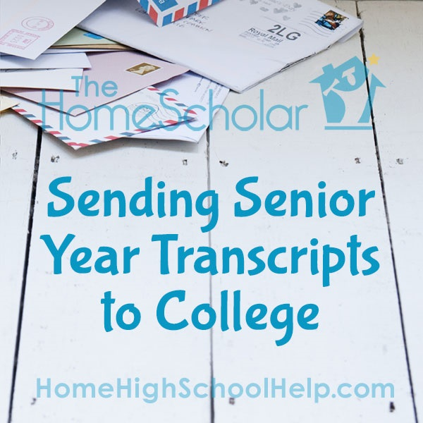 Sending Senior Year Transcripts to College