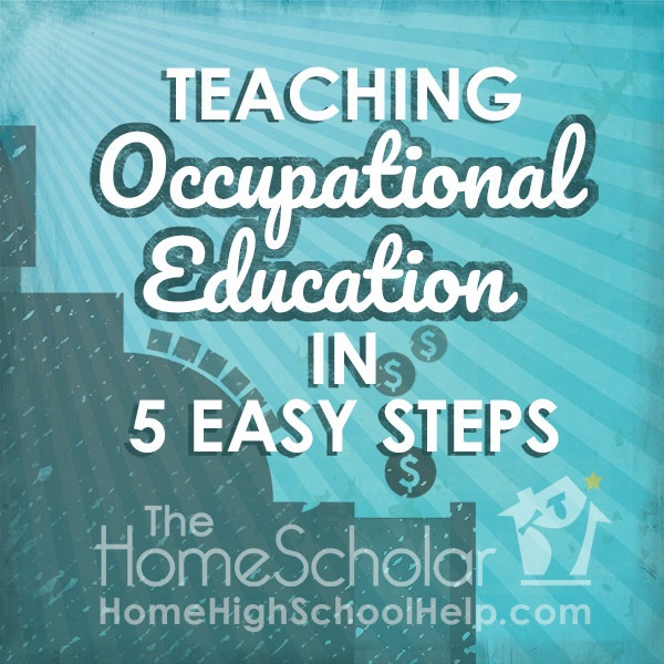 Teaching Occupational Education in 5 Easy Steps