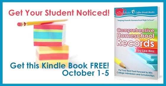 [Free ebook] Comprehensive Homeschool Records Free October 1-5, 2019
