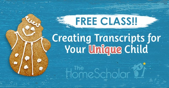 [Free Class] Transcripts for Your Unique Child