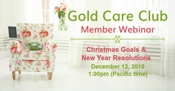 Gold Care Club Webinar: December 12, 2019