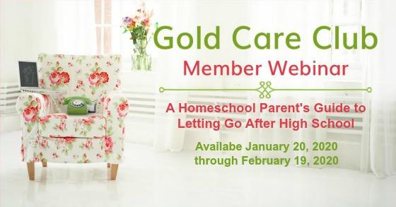 Gold Care Club Webinar: January 20, 2019 - February 19, 2020