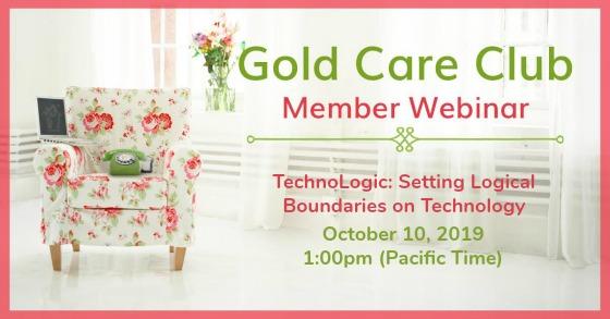 Gold Care Club Webinar: October 10, 2019